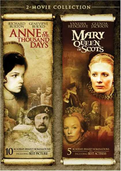 Bestselling Movies (2008) - Anne of the Thousand Days / Mary, Queen of Scots by Charles Jarrott