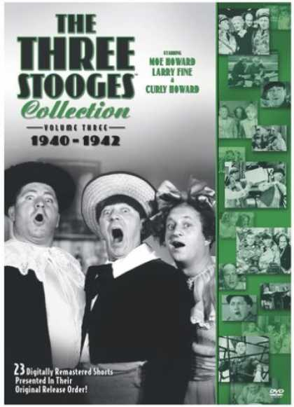 Bestselling Movies (2008) - The Three Stooges Collection, Vol. 3: 1940-1942