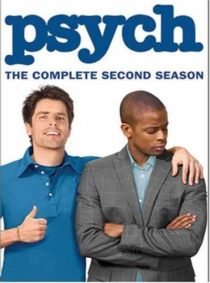 Bestselling Movies (2008) - Psych - The Complete Second Season