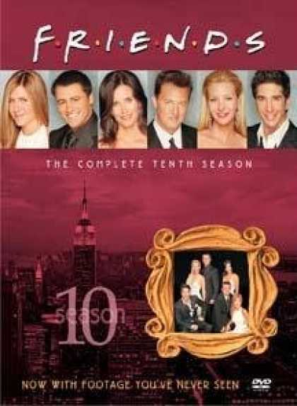 Bestselling Movies (2008) - Friends - The Complete Tenth Season by David Schwimmer