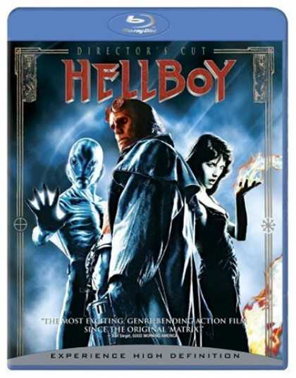 Bestselling Movies (2008) - Hellboy (Director's Cut) [Blu-ray] by Guillermo Del Toro
