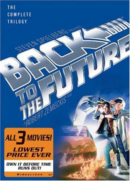 Bestselling Movies (2008) - Back to the Future - The Complete Trilogy (Widescreen Edition) by Laurent Bouzer