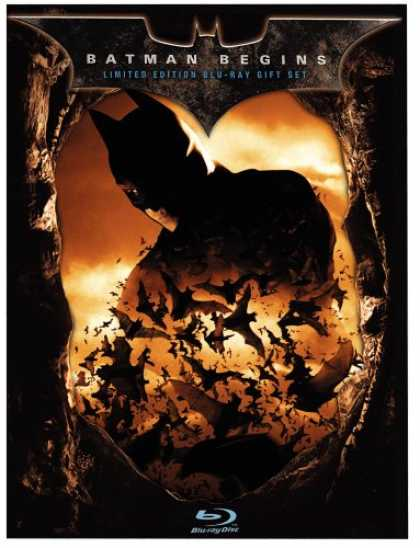 Bestselling Movies (2008) - Batman Begins (Limited Edition Gift Set) [Blu-ray]