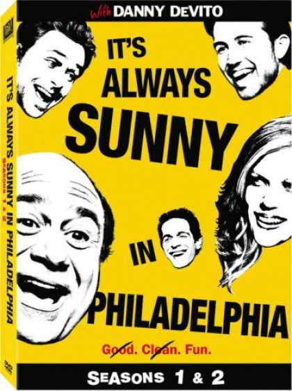 Bestselling Movies (2008) - It's Always Sunny in Philadelphia - Seasons 1 & 2 by Rob McElhenney
