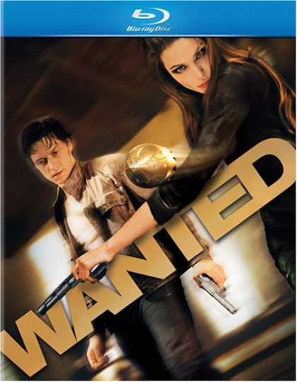 Bestselling Movies (2008) - Wanted [Blu-ray]