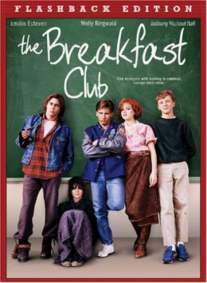 Bestselling Movies (2008) - The Breakfast Club by John Hughes