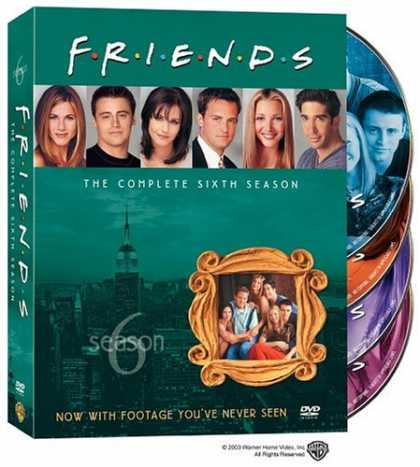 Bestselling Movies (2008) - Friends - The Complete Sixth Season by David Schwimmer