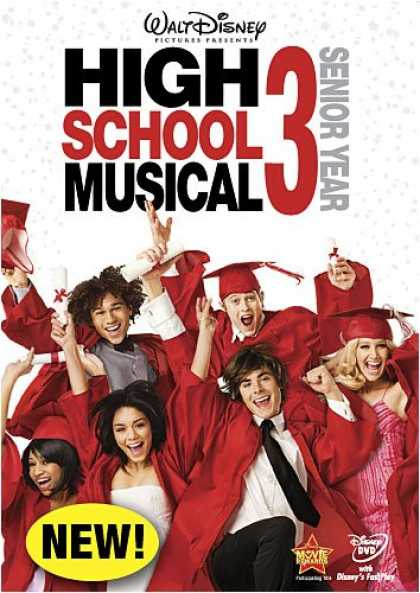 Bestselling Movies (2008) - High School Musical 3: Senior Year by Kenny Ortega