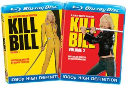 Bestselling Movies (2008) - Kill Bill - Volumes 1 & 2 [Blu-ray] (Amazon.com Exclusive) by Quentin Tarantino