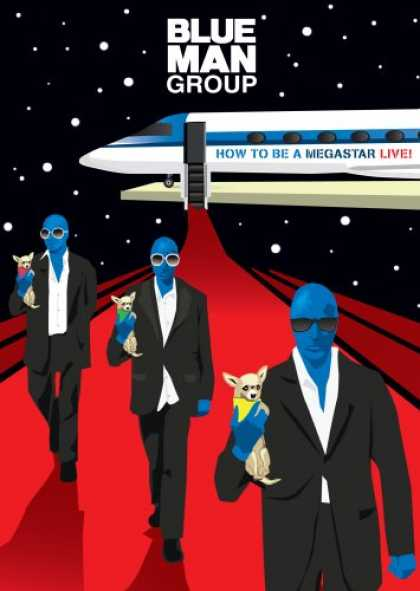 Bestselling Movies (2008) - Blue Man Group: How to Be a Megastar Live! [Blu-ray] by Various