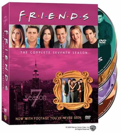 Bestselling Movies (2008) - Friends - The Complete Seventh Season by David Schwimmer