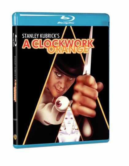 Bestselling Movies (2008) - A Clockwork Orange [Blu-ray]