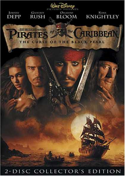Bestselling Movies (2008) - Pirates of the Caribbean - The Curse of the Black Pearl (Two-Disc Collector's Ed