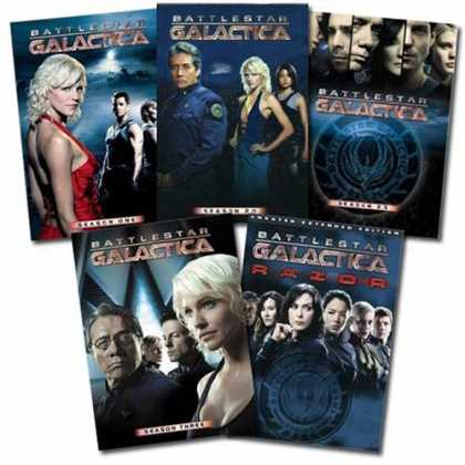Bestselling Movies (2008) - Amazon.com Exclusive: Battlestar Galactica Franchise Collection (Season One | Se