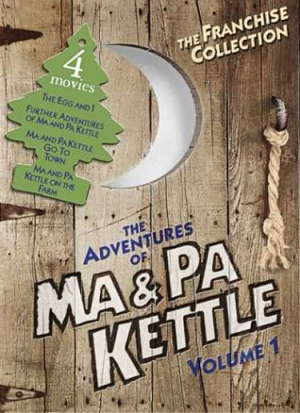 Bestselling Movies (2008) - The Adventures of Ma & Pa Kettle, Vol. 1 (The Egg and I / Ma and Pa Kettle / Ma