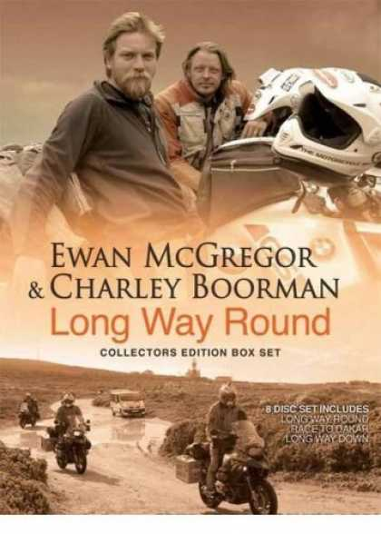 Bestselling Movies (2008) - Long Way Round (Deluxe) Long Way Down (Deluxe) Race To Dakar - Complete 8 DVD Bo