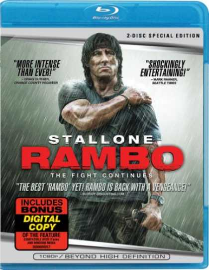 Bestselling Movies (2008) - Rambo [Blu-ray] by Sylvester Stallone