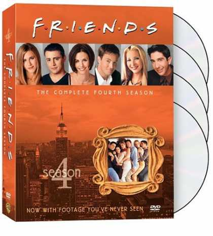 Bestselling Movies (2008) - Friends - The Complete Fourth Season by Dana De Vally Piazza