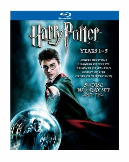 Bestselling Movies (2008) - Harry Potter Years 1-5 [Blu-ray] by Alfonso Cuarón