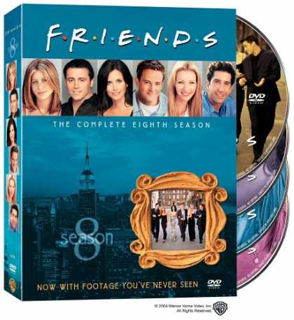 Bestselling Movies (2008) - Friends - The Complete Eighth Season by David Schwimmer