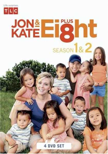 Bestselling Movies (2008) - Jon & Kate Plus 8 The Complete 1st and 2nd Season (4 DVD Set) - Early Release Ed