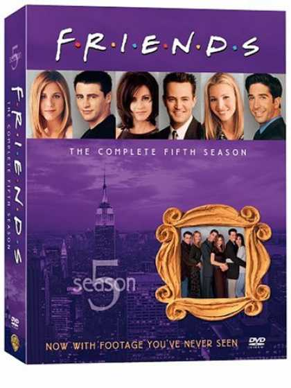 Bestselling Movies (2008) - Friends - The Complete Fifth Season by Andrew Tsao