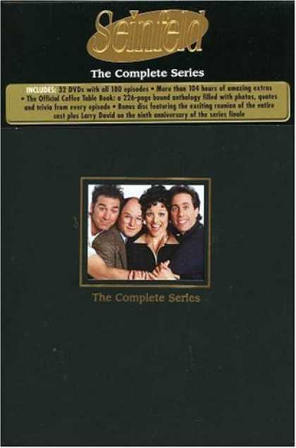Bestselling Movies (2008) - Seinfeld - The Complete Series by Tom Cherones