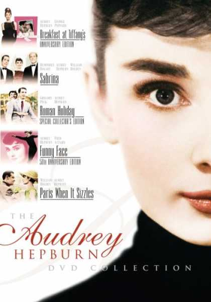 Bestselling Movies (2008) - The Audrey Hepburn DVD Collection (Breakfast at Tiffany's / Sabrina / Roman Holi