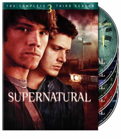 Bestselling Movies (2008) - Supernatural - The Complete Third Season