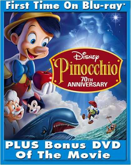Bestselling Movies (2008) - Pinocchio (Platinum Edition + Standard DVD) [Blu-ray] by Ben Sharpsteen;Hamilton