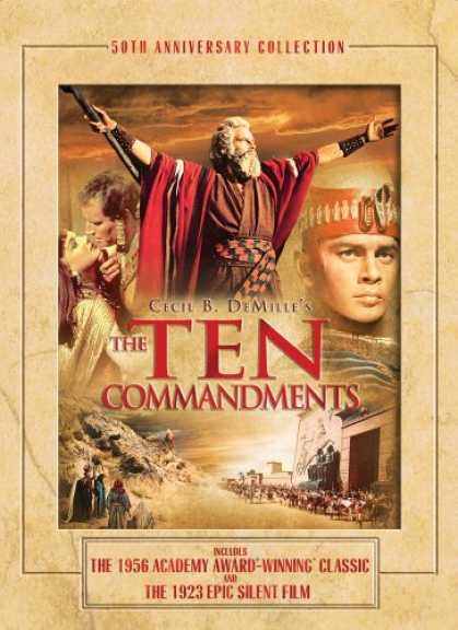 Bestselling Movies (2008) - The Ten Commandments (50th Anniversary Collection) by Cecil B. DeMille