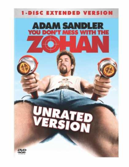 Bestselling Movies (2008) - You Don't Mess With the Zohan (Unrated Single-Disc Edition) by Dennis Dugan