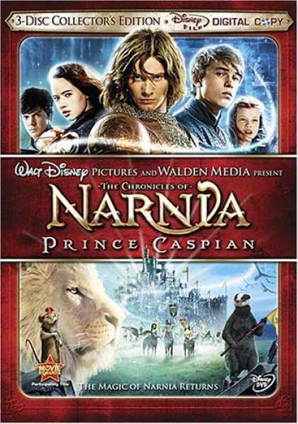 Bestselling Movies (2008) - The Chronicles of Narnia: Prince Caspian (Three-Disc Collector's Edition + Digit
