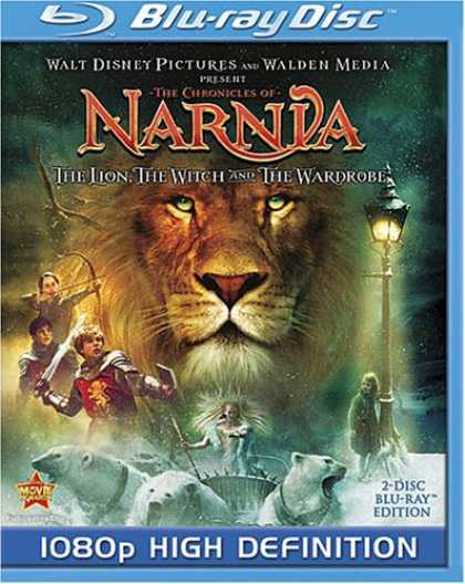 Bestselling Movies (2008) - The Chronicles of Narnia: The Lion, the Witch and the Wardrobe [Blu-ray] by Andr