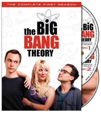 Bestselling Movies (2008) - The Big Bang Theory - The Complete First Season