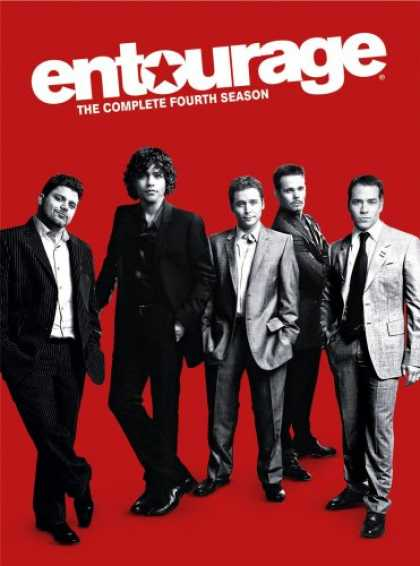 Bestselling Movies (2008) - Entourage - The Complete Fourth Season