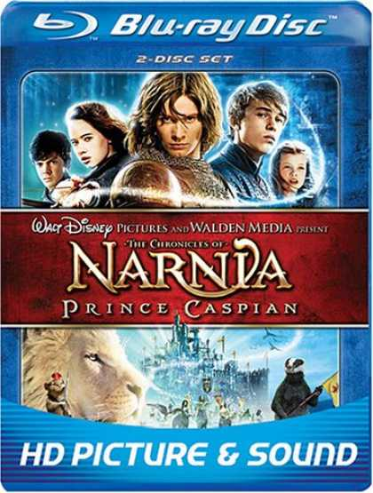 Bestselling Movies (2008) - The Chronicles of Narnia: Prince Caspian (Two Disc and BD Live) [Blu-ray] by .