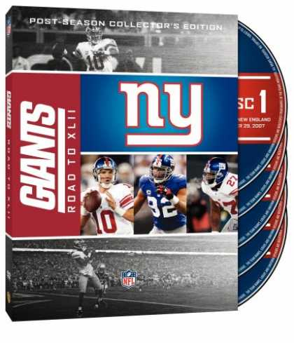 Bestselling Movies (2008) - NFL- New York Giants - The Road to Super Bowl XLII