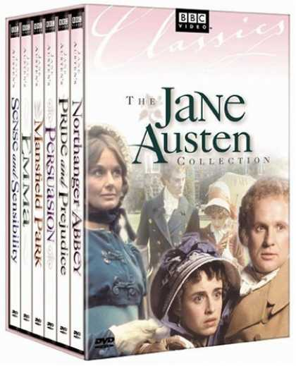 Bestselling Movies (2008) - Jane Austen Collection (Sense & Sensibility / Emma / Persuasion / Mansfield Park