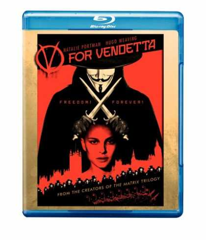 Bestselling Movies (2008) - V for Vendetta [Blu-ray]
