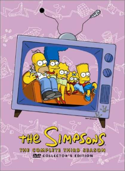 Bestselling Movies (2008) - The Simpsons - The Complete Third Season by Alan Smart