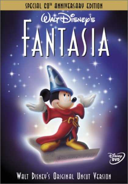 Bestselling Movies (2008) - Fantasia (Special 60th Anniversary Edition) by James Algar