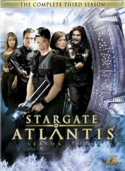 Bestselling Movies (2008) - Stargate Atlantis - The Complete Third Season by Andy Mikita