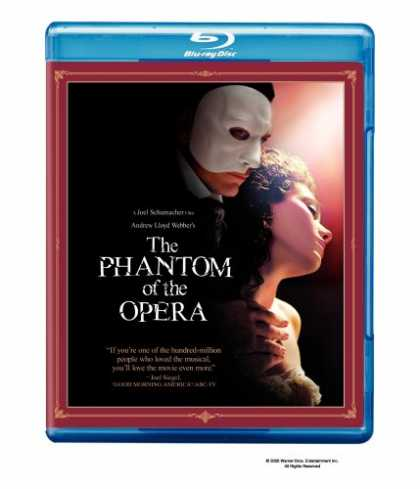 Bestselling Movies (2008) - The Phantom of the Opera [Blu-ray]