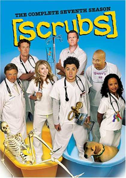 Bestselling Movies (2008) - Scrubs: The Complete Seventh Season