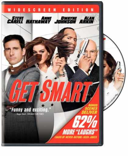 Bestselling Movies (2008) - Get Smart (Single-Disc Widescreen Edition)