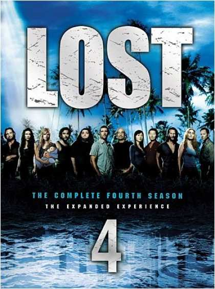 Bestselling Movies (2008) - Lost - The Complete Fourth Season