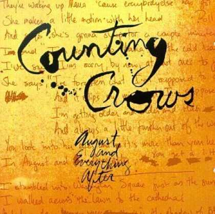 Bestselling Music (2006) - August and Everything After by Counting Crows