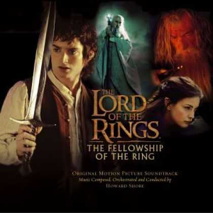 Bestselling Music (2006) - The Lord of the Rings: The Fellowship of the Ring by Howard Shore