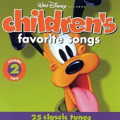 Bestselling Music (2006) - Walt Disney Records : Children's Favorite Songs, Vol. 2 : 25 Classic Tunes [Blis